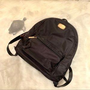 Michael Kors Black Nylon Backpack